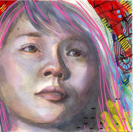 Agnes Chow Portrait