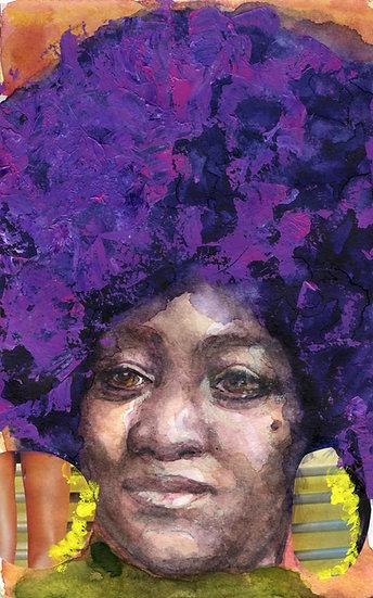 Dorothy Pitman Hughes Portrait