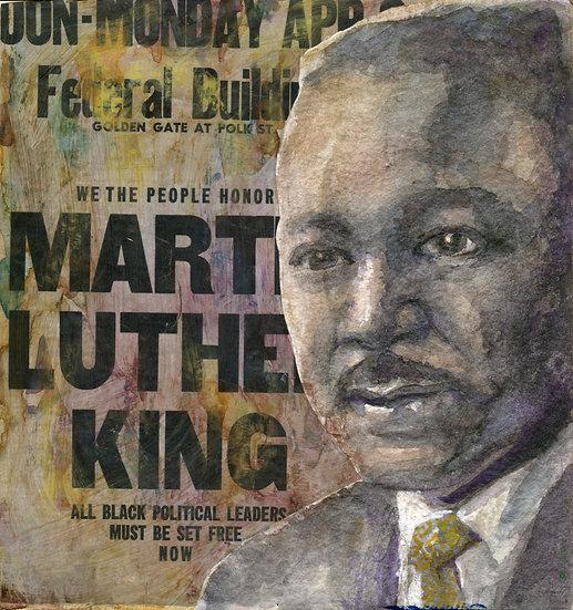 Martin Luther King Jr Portrait