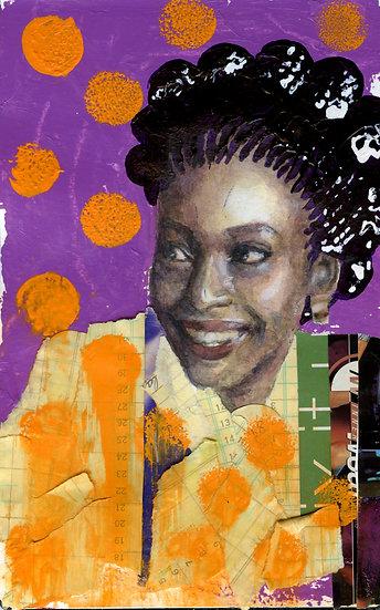 Chimamanda Ngozi Portrait