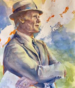 Portrait of Tom Landry