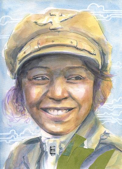 Bessie Coleman Portrait