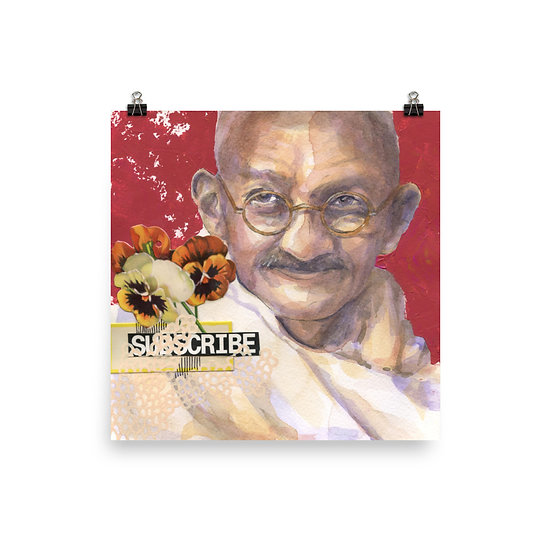 Gandhi Print