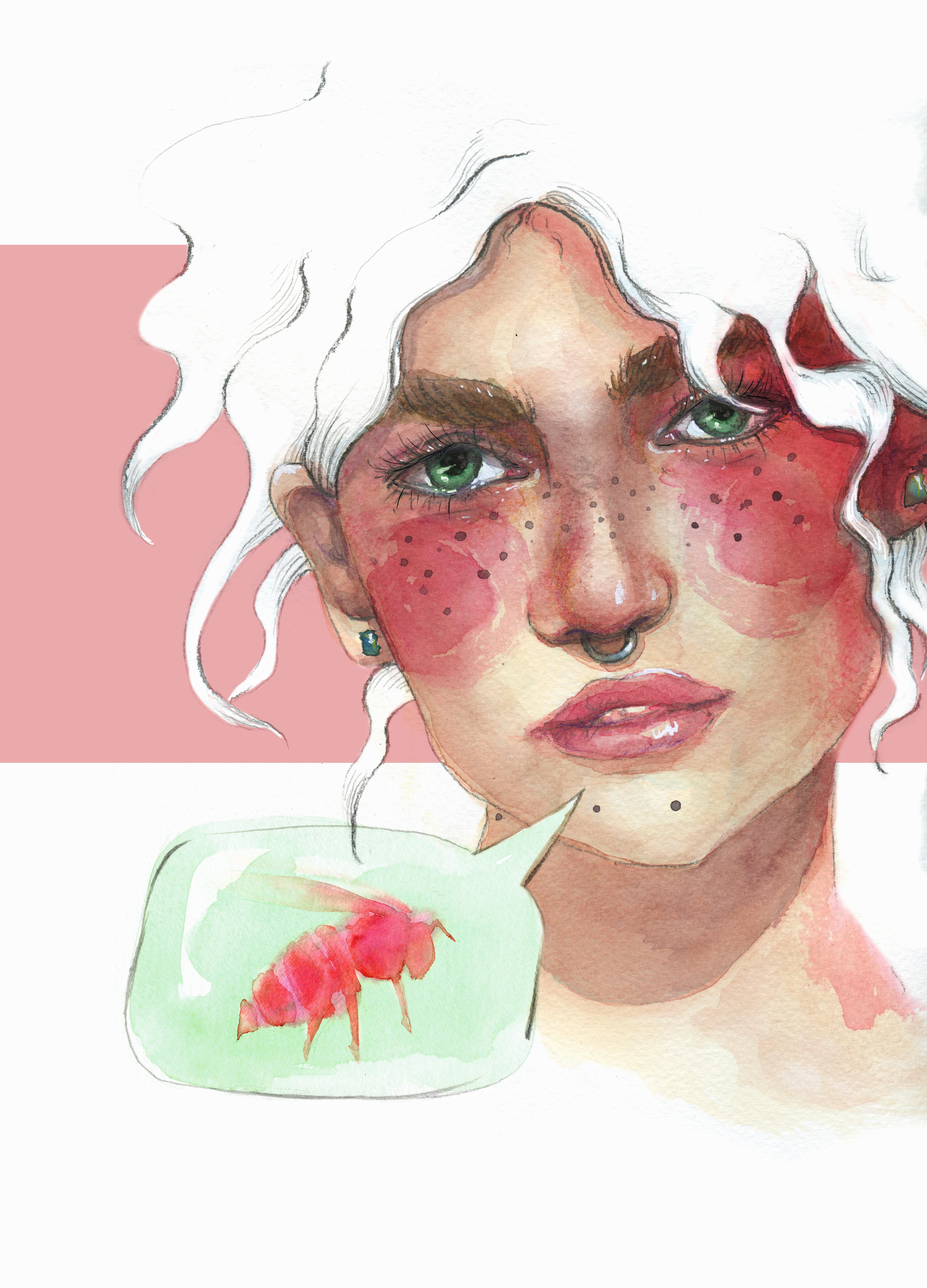 watercolor portrait Final