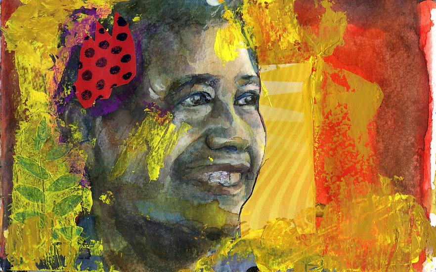 Cesar Chavez Portrait