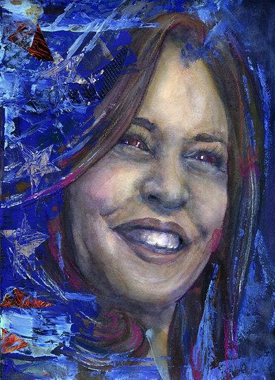 Kamala Harris Portrait