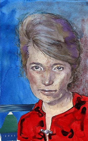 Margaret Sanger Portrait