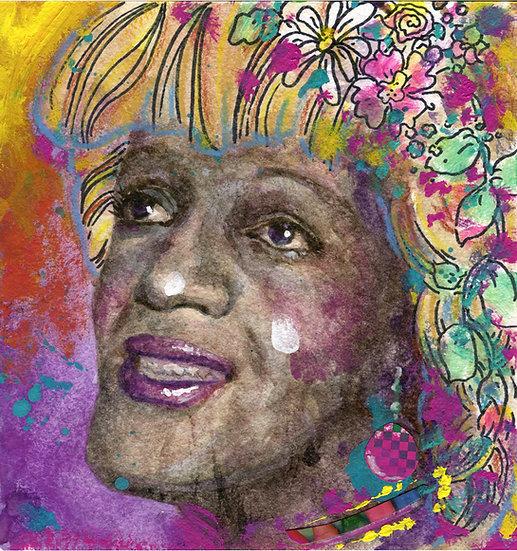 Marsha P Johnson Portrait