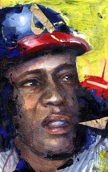 Hank Aaron Portrait