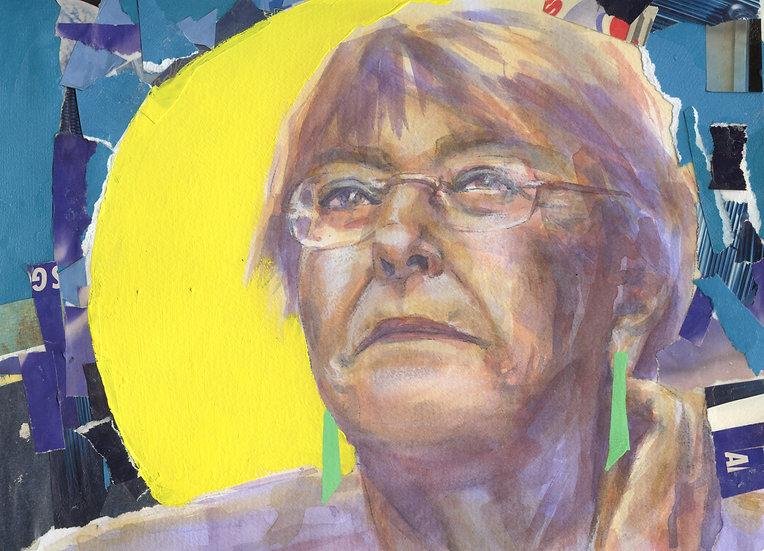 Michelle Bachelet Portrait