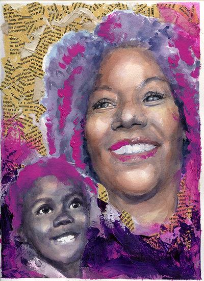 Ruby Bridges Portrait