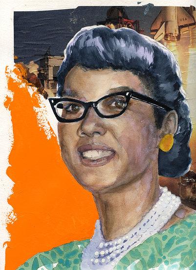 Dorothy Vaughan Portrait