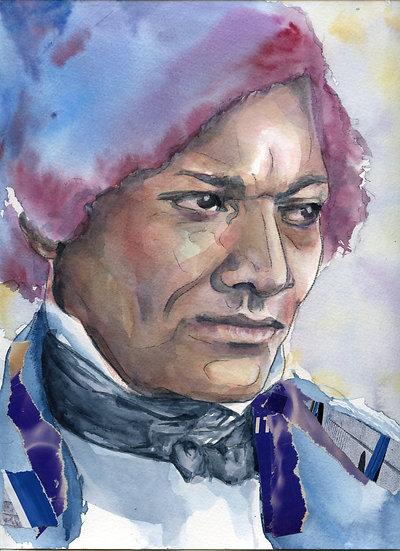 Frederick Douglas Portrait