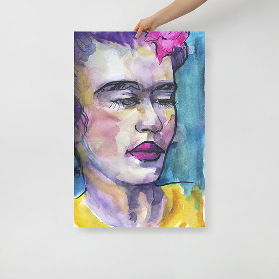 Print of Frida Kahlo Portrait
