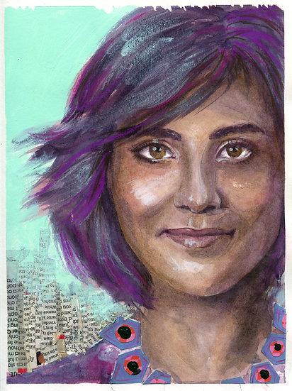 Loujain al-Hathloul Portrait