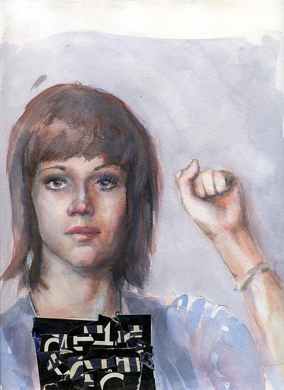 Jane Fonda Portrait