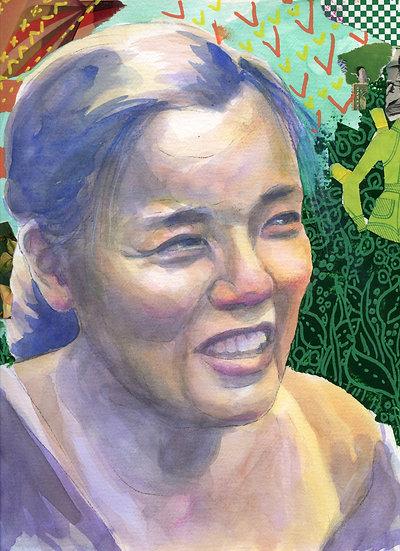 Grace Lee Boggs Portrait