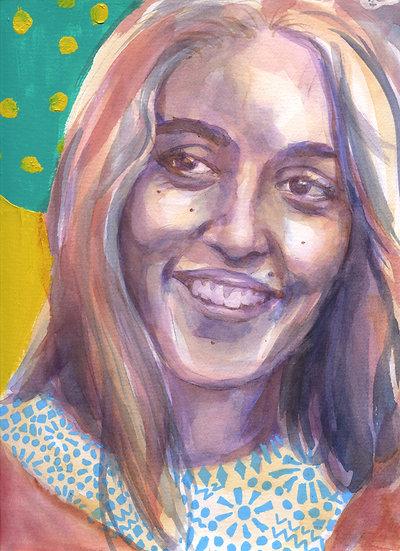 Joan Baez Portrait