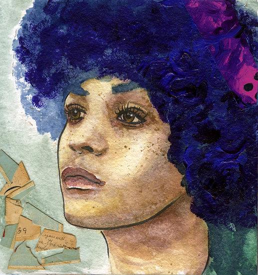 Angela Davis Portrait