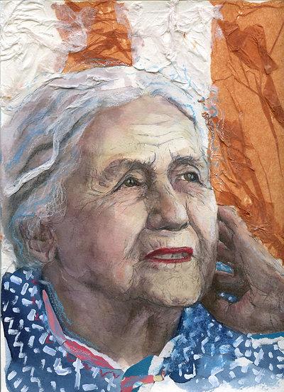 Doris Lessing Portrait