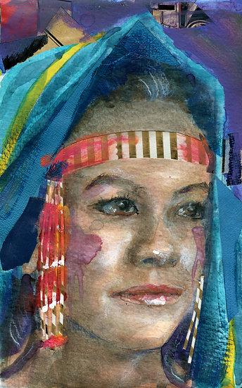 Maatalii Okalik Portrait