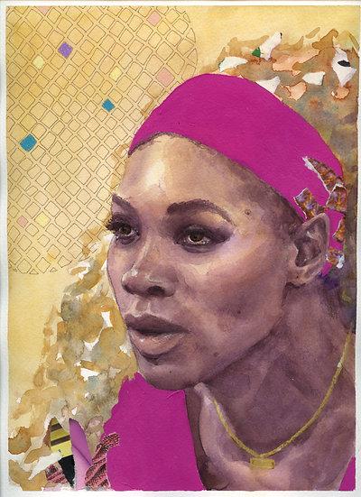 Serena Williams Portrait