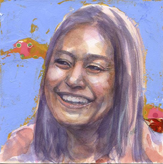 Hasina Kharbhih Portrait