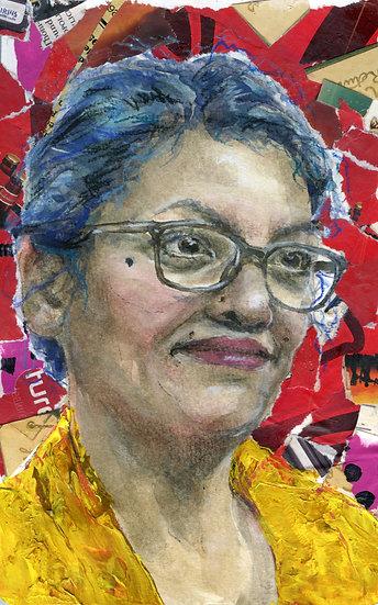 Rashida Tlaib Portrait