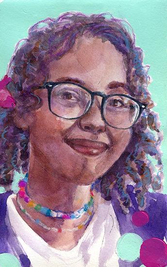 Isra Hirsi Portrait