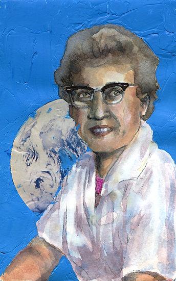 Katherine Johnson Portrait
