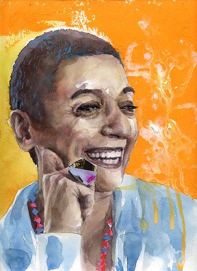 Zainab Salbi Portrait