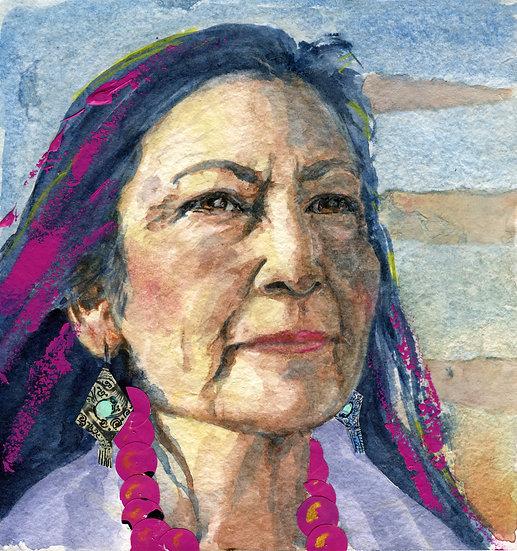 Deb Haaland Portrait