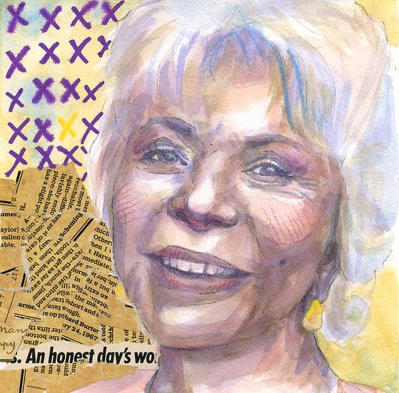 Isabel Allende Portrait