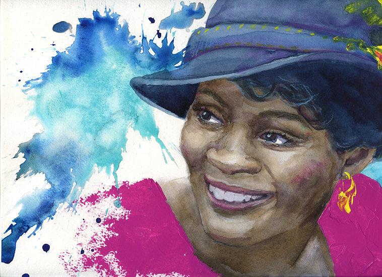 Cicily Tyson Portrait