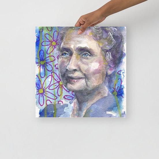 Helen Keller print