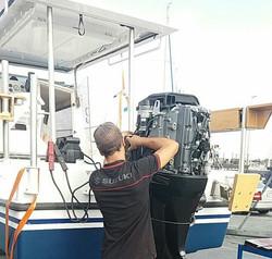 entretien moteur bateau
