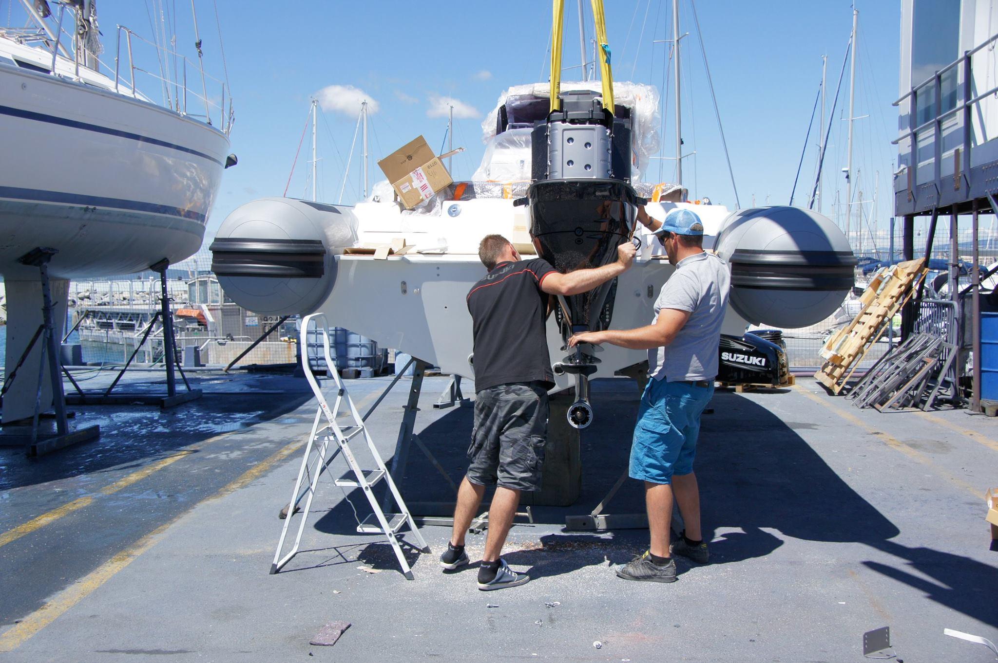 Remotorisation bateau