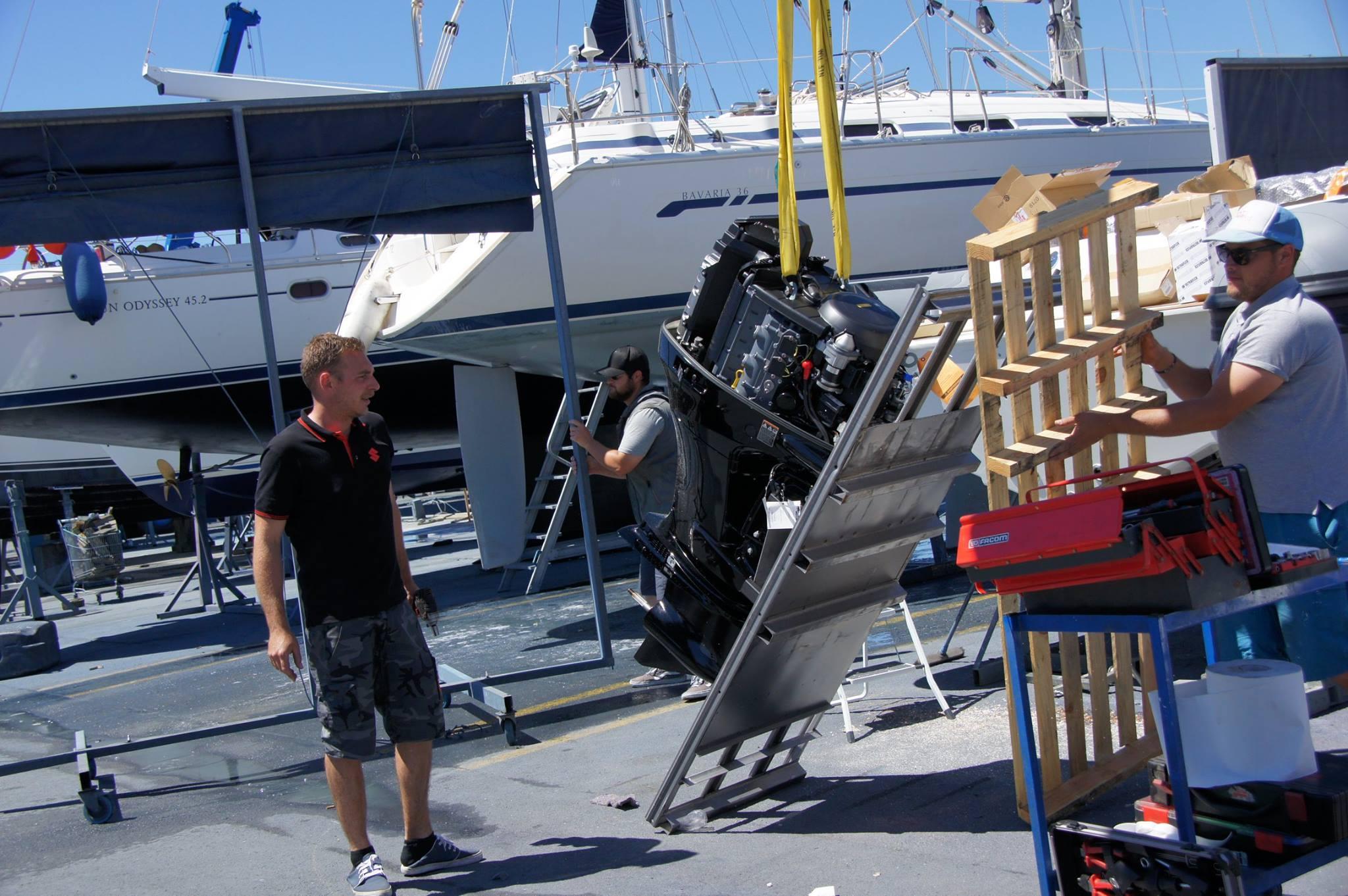 Remotorisation bateaux St raphael