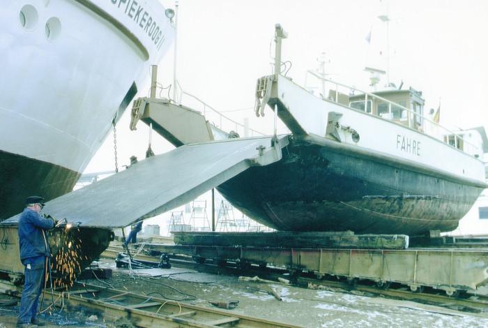 Werftaufenthalt bei Diedrichs-22-02-1994