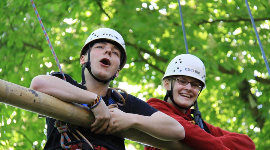 2 Team Klettern 9 Spielraum Erlebnispaed