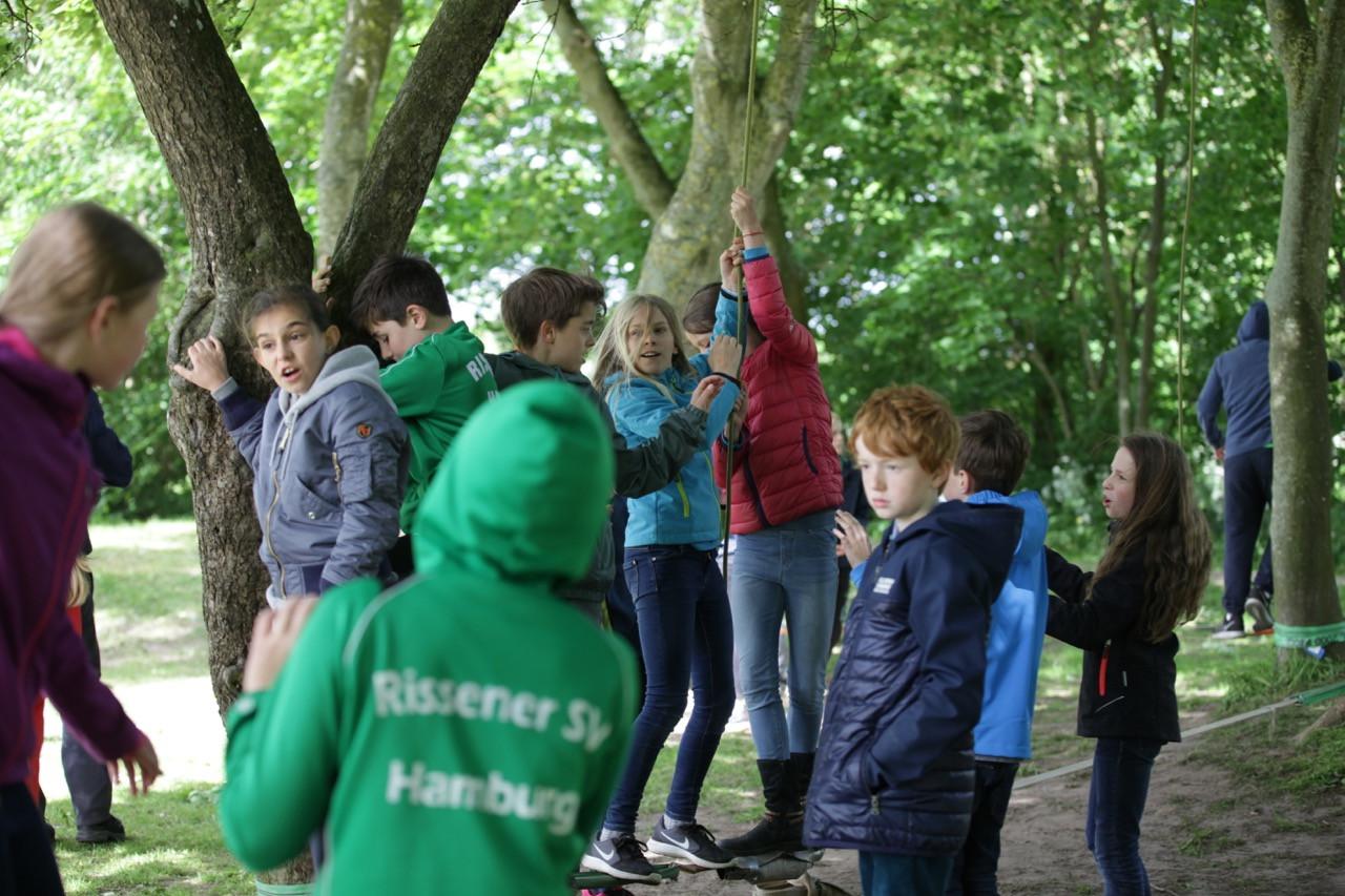 1 Niedrigseilparcours 7 Spielraum Erlebnispaedagogik Jugendherberge Niebuell.jpg