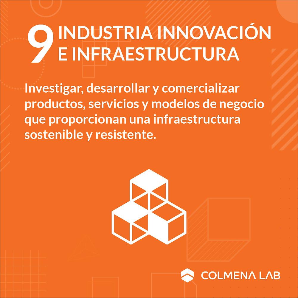 Objetivo de desarrollo sostenible 9 Industria Innovación e Infraestructura