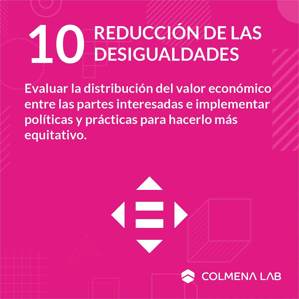 Objetivo de desarrollo sostenible 10 Reducción de las Desigualdades