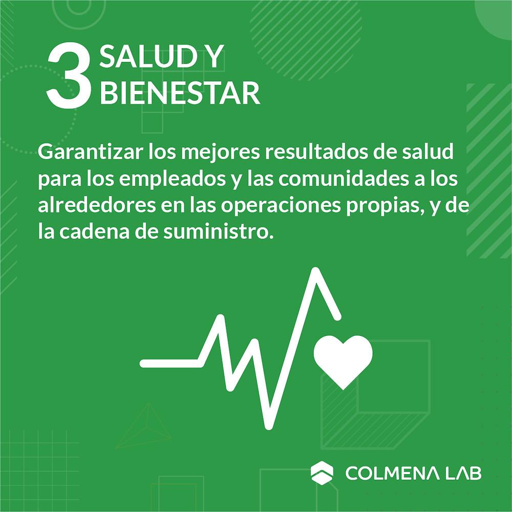 Objetivo de desarrollo sostenible 3 Salud y Bienestar