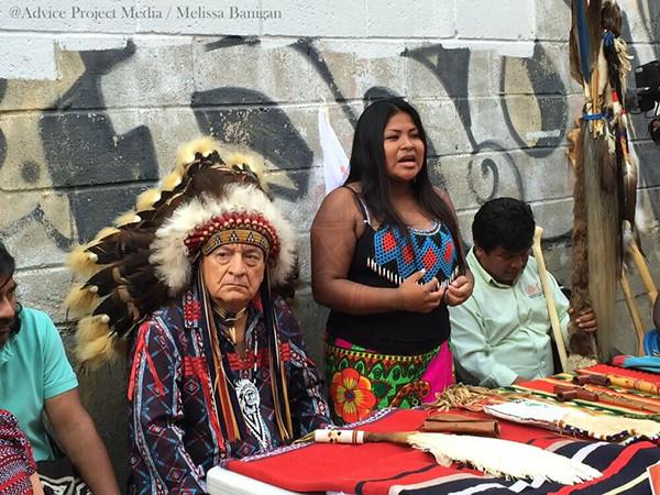 Lideres Indigenas