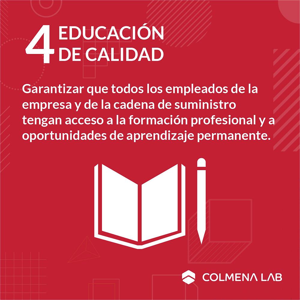 Objetivo de desarrollo sostenible 4 Educación de Calidad