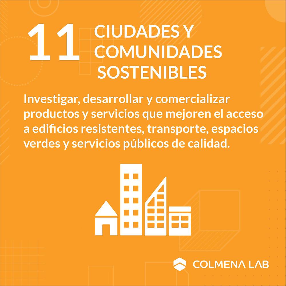 Objetivo de desarrollo sostenible 11 Ciudades y Comunidades Sostenibles