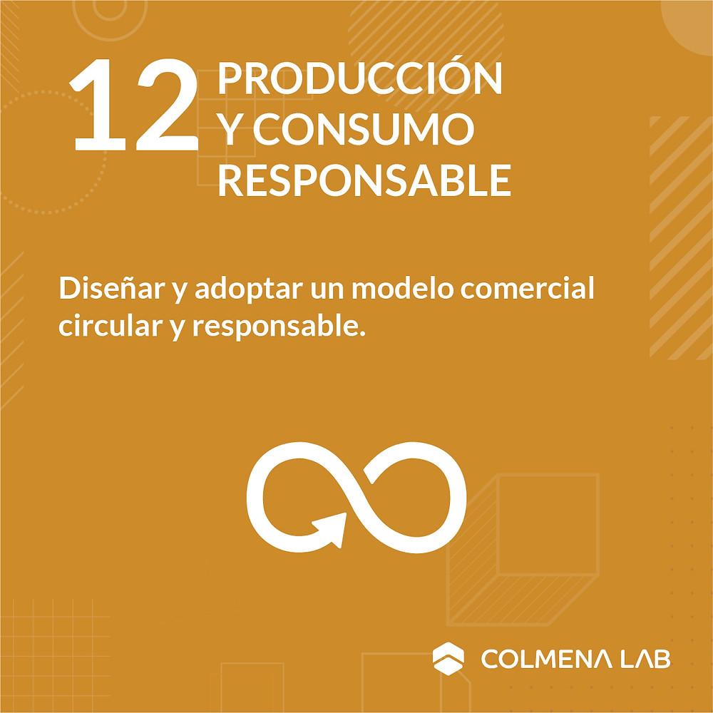 Objetivo de desarrollo sostenible 12 Producción y Consumo Responsable