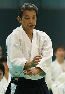 Yasuno Sensei 8eme Dan Aikikai de Tokyo Japon