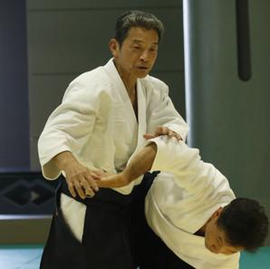Yasuno Sensei 8 eme Dan Aikikai